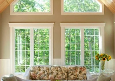 Casement Windows in Living Room